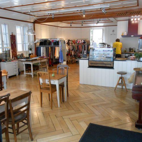 CaféLaden Schwyz Eingang