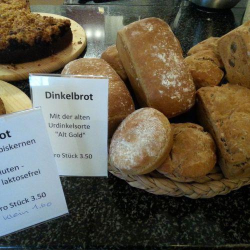 Dinkelbrot im CaféLaden