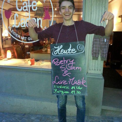 Poetry Slam im CaféLaden