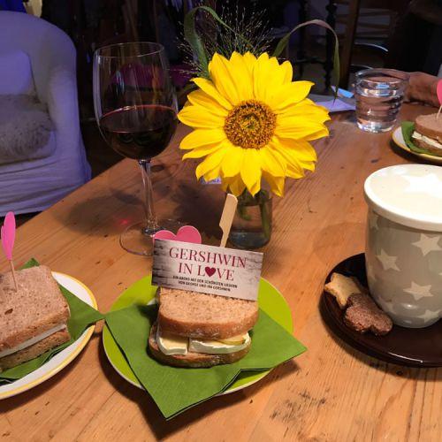 Sandwiches im CaféLaden